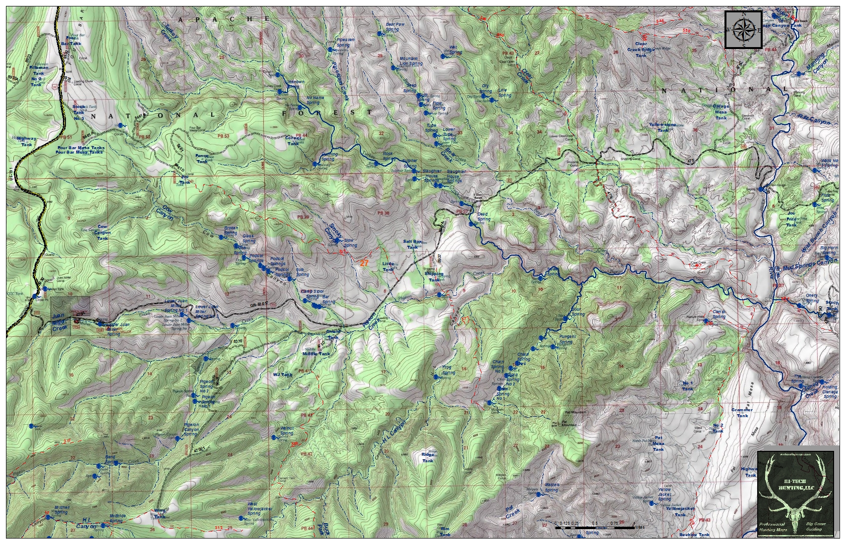 Custom Hunting Maps Where You Hunt